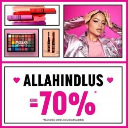 NYX Cosmetics līdz -70%