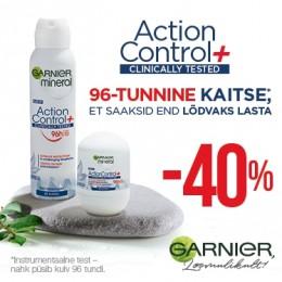 Garnier Action Control dezodoranti -40%