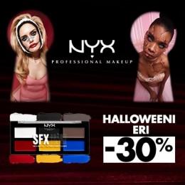 NYX Cosmetics Halloween -30%