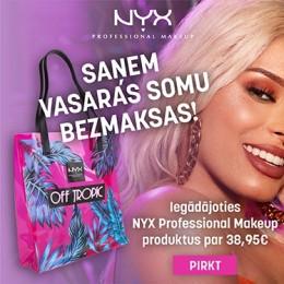NYX Cosmetics dāvana!