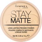 Rimmel London Stay Matte Long Lasting Pressed Powder (9g) 001 Transparent