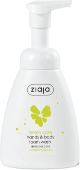 Ziaja Lemon Cake Hand & Body Foam Wash (250mL)