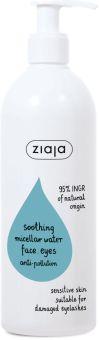 Ziaja Soothing Micellar Water Face, Eyes, Anti-pollution (390mL)