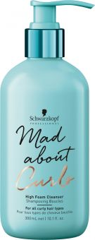 Schwarzkopf Professional Bonacure Mad About Curls High Foam Cleanser (300mL)