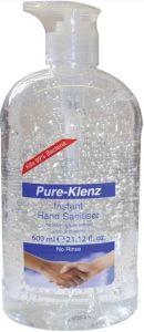 Pure-Klenz Hand Sanitizer With Pump (600mL)