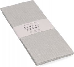 Simple Goods Sponge Cloth (2pcs) Grey