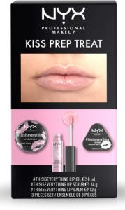NYX Professional Makeup Kiss Prep Treat Set