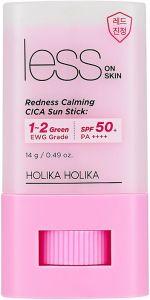 Holika Holika Less On Skin Redness Calming CICA Sun Stick SPF50+ (14g)