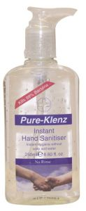 Pure-Klenz Hand Sanitizer With Pump (250mL)