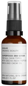 Evolve Organic Beauty Superfood 360 Serum (30mL)