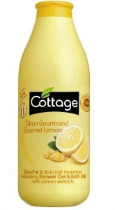 Cottage Bath&Shower Gel Gourmet Lemon (750mL)