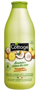 Cottage Bath&Shower Gel Ananas & Coconut (750mL)