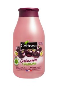 Cottage Shower Gel Black Cherry & Pistachio (250mL)
