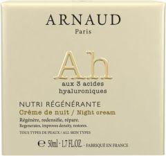 Arnaud Paris Nutri Regenerante Firming and Regenerating Night Cream for All Skin Types (50mL)