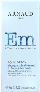 Arnaud Paris Aqua Detox Hydrating Face Mask For All Skin Types (50mL)