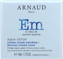 Arnaud Paris Aqua Detox Extreme Climat Protecting Cream for Very Dry and Sensitive Skin (50mL)