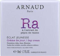 Arnaud Paris Eclat Jeunesse Rejuvenating Day Cream for All Skin Types (50mL)