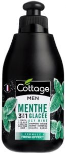 Cottage 2in1 Shampoo & Shower Gel for Men Icy Mint (250mL)