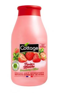 Cottage Shower Gel Strawberry & Mint (250mL)