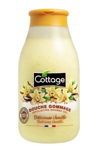 Cottage Exfoliating Shower Gel Vanilla (250mL)