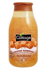 Cottage Exfoliating Shower Gel Caramel (270mL)
