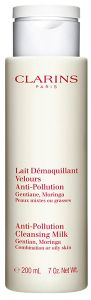 Clarins Anti-pollution Cleansing Milk (200mL) Combination or Oily skin