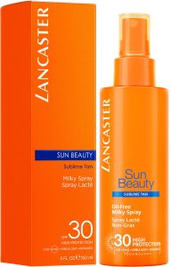 Lancaster Sun Beauty Oil free Milky Spray SPF30 (150mL)
