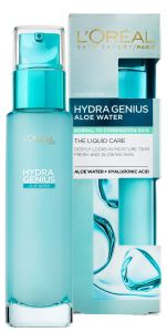 L'Oreal Paris Hydra Genius Aloe Water Moisturizer for Normal to Combination Skin (70mL)