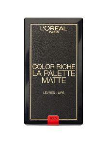 L'Oreal Paris Color Riche La Palette Matte Lips Long Lasting Lip Palette Bold