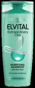 L'Oreal Elvital Extraordinary Clay Shampoo (250mL)