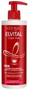 L'Oreal Paris Elvital Color-Vive Low Shampoo Cream Shampoo 3In1 (400mL)