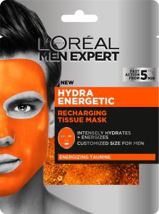 L'Oreal Paris Men Expert Hydra Energetic Tissue Mask (30g)