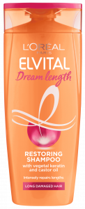 L'Oreal Paris Elvital Dream Length Restoring Shampoo (250mL)