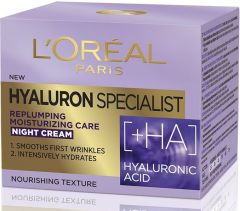 L'Oreal Paris Hyaluron Specialist Replumping Moisturising Night Cream/mask With Hialuronic Acid (50mL)