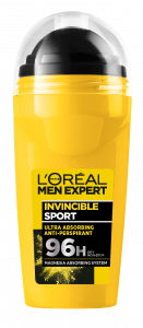 L'Oreal Paris L'Oreal Men Expert Invincible Sport Roll-on Deodorant (50mL)