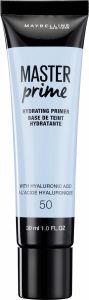 Maybelline New York Master Prime Hydrating Makeup Primer 50 Hydrating (30mL)