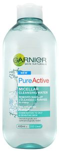 Garnier Skin Naturals Pure Active Micellar Cleansing Water (400mL) Combination To Oily and Sensitive Skin