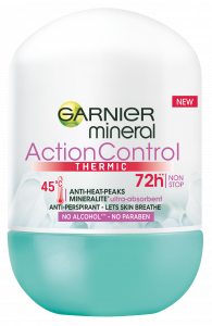 Garnier Action Thermic Roll-on Deodorant For Women (50mL)