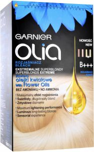 Garnier Olia No Ammonia Oil-based Permanent Hair Color B+++ Bleach