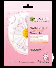 Garnier Moisture + Comfort Tissue Mask (32g)