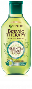 Garnier Botanic Therapy Green Tea & Eucalyptus Shampoo (400mL)