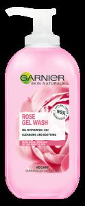 Garnier Skin Naturals Rose Gel Wash (200mL)
