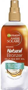 Garnier Ambre Solaire Natural Bronzer Self Tan Dry Oil (150mL)