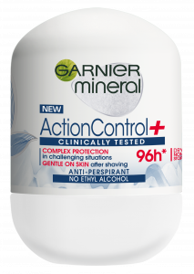 Garnier Mineral Action Control Clinically Tested Anti-Perspirant Roll-On (50mL)