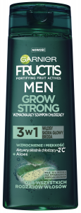 Garnier Fructis Men Grow Strong Shampoo Aloe (300mL)