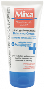 Mixa 24h Light Balancing Moisturizing Cream (50mL)