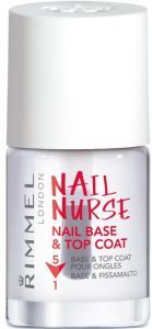 Rimmel London Nail Nurse Nail Base & Top Coat 5in1 (12mL)