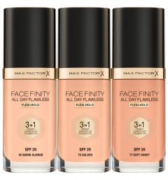Max Factor Facefinity 3-in-1 Foundation (30mL)