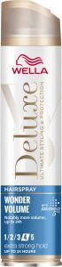 Wella Deluxe Wonder Volume Extra Strong Hold Hairspray (250mL)