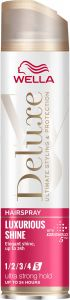 Wella Deluxe Luxurious Shine Ultra Strong Hold Hairspray (250mL)
